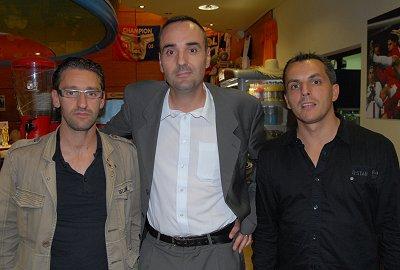 Laurent David (Espace Sport Côtière), Laurent Barou (Coeur de Champion) et Stéphane Conte (Set et Match) sont quittes à organiser une nouvelle partie pour que cesse enfin la polémique...