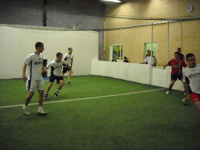 Foot indoor 3x3 Championnat