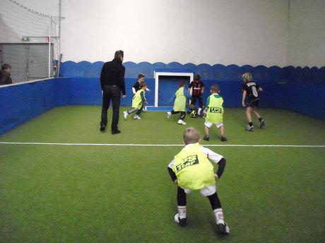 Clement 6 ans : anniversaire au Foot Indoor.