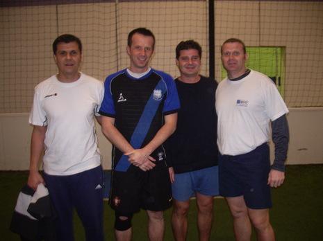 Championnat foot indoor 3x3.Set et Match Mions.