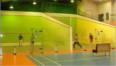 Squash Set et Match Mions. Résultat positif pour le 1° tournoi
