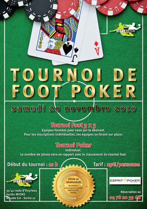 Tournoi FOOT POKER