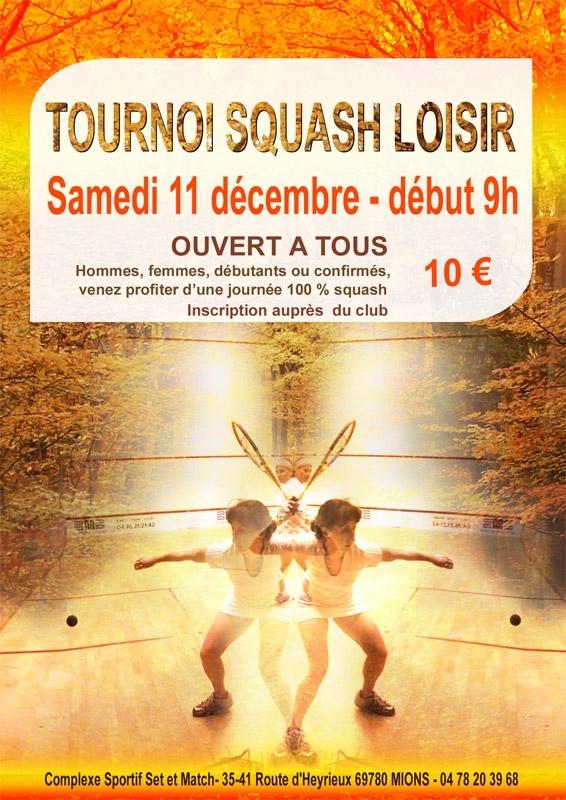 TOURNOI DE SQUASH