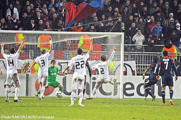 LYON - REAL MADRID