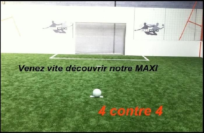 ICI pour vous un MAXI 4 contre 4