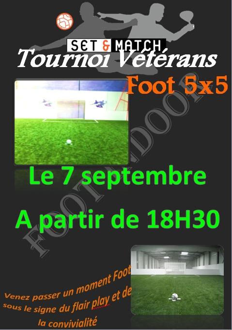 le 7 septembre tournoi vétérans