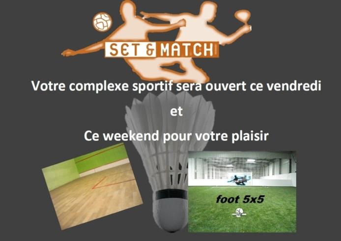 HALLOWEEN Set & Match est ouvert