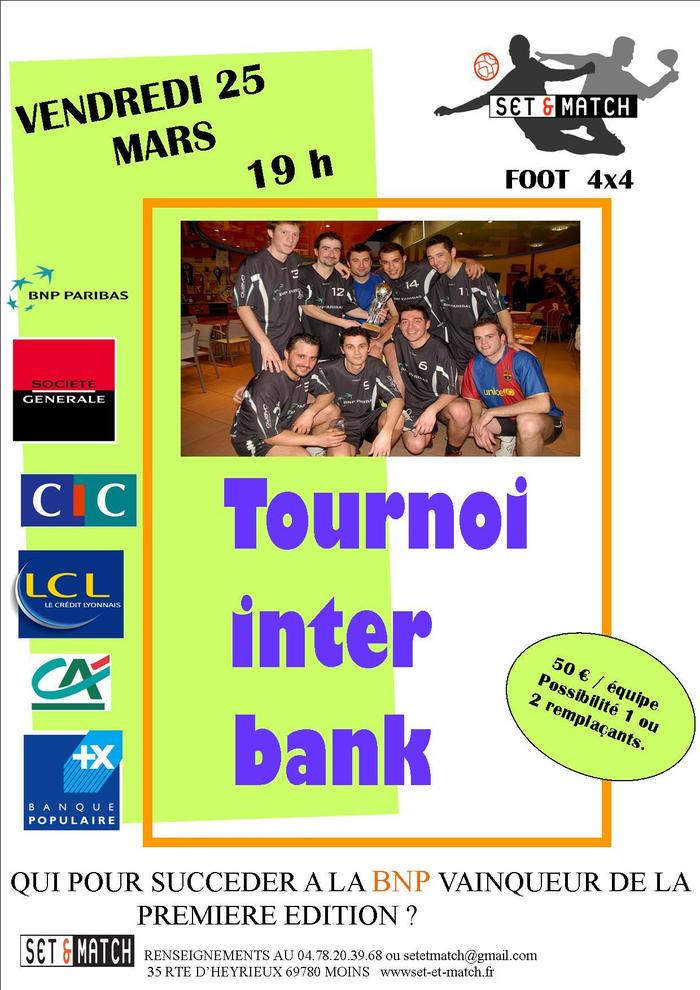 Tournoi Inter BANK