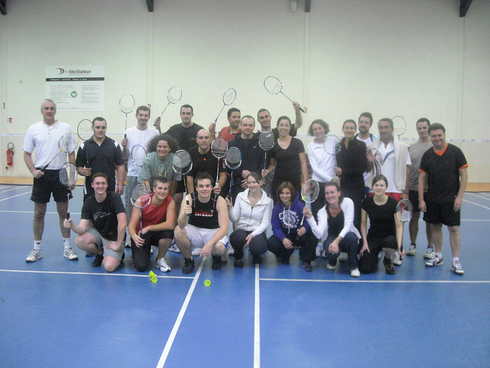 Badminton en folie... CHEZ SET & MATCH