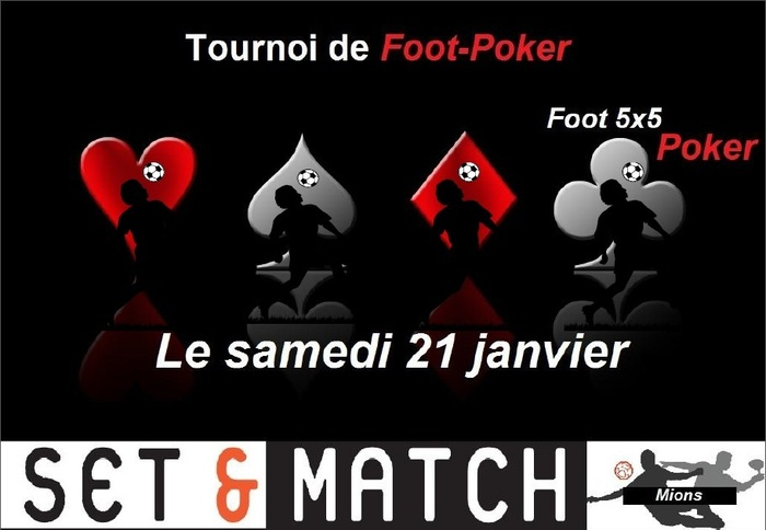 THE EVENT FOOT POKER...