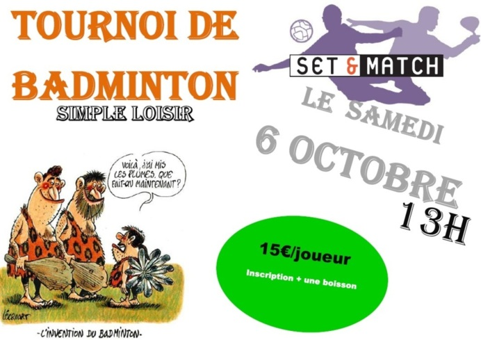 badminton chez set & Match