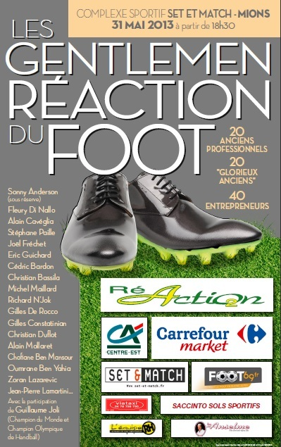 Gentlemen du foot chez Set & Match ce 31 Mai