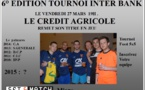 TOURNOI INTER BANK  : 6° Edition