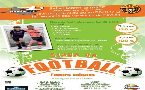 Stage futur talents chez Set & Match !!!